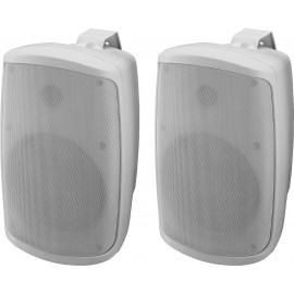 Système d'enceintes stéréo 2 voies actives, 2 x 30 W, 16 cm