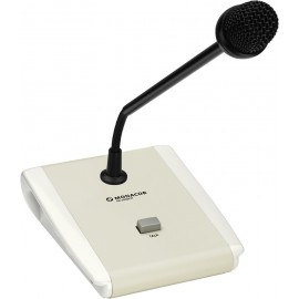 Microphone de table Public Adress PTT