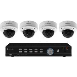 Set de surveillance vidéo, gamme HYBRID