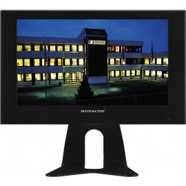 Moniteur couleur LCD avec rétro-éclairage LED, boîtier métallique