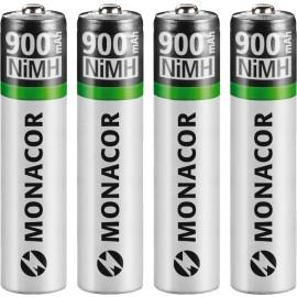 Set d'accumulateurs NiMH, R03, 4 pièces