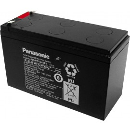 Accumulateur Plomb PANASONIC-AGM, courants forts, 12 V, 7,8 Ah