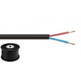 """Câble haut-parleur, """"TOP QUALITY"""", sans halogène, 2 x 2,5 mm2, 100 m"""