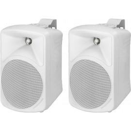 Paire d'enceintes de sonorisation de grande qualité, 20 W, 8 Ω