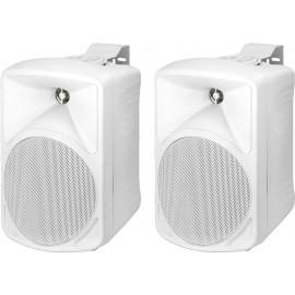 Paire d'enceintes de sonorisation de grande qualité, 30 W, 8 Ω