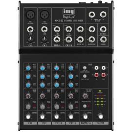 Table de mixage audio 4 canaux