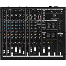 Table de mixage amplifiée, 2 x 475 W, 4 Ω