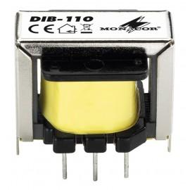 Transformateur audio DI 10:1 pour signaux micro