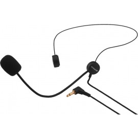 Microphone électret serre-tête ultra-léger
