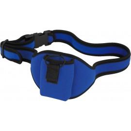 Sacoche ceinture bleue
