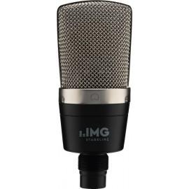 Microphone à condensateur, grande membrane, compact