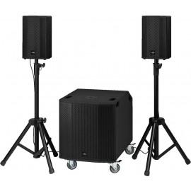 Système professionnel compact actif, 600 W