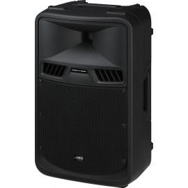 Enceinte active professionnelle avec amplificateur 2 canaux, 300 W