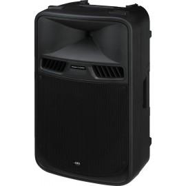 Enceinte active professionnelle avec amplificateur 2 canaux, 450 W