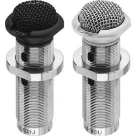 Microphone électret encastré