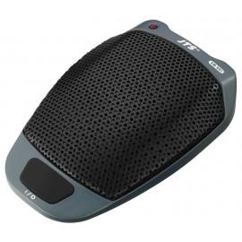 Microphone électret à zone de surface