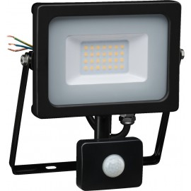 Projecteur à LED,  230 V/20 W, 1400 lm, IP65, capteur