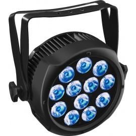 Projecteur spot à LEDs pour applications en extérieur, IP65, RGBWA+UV