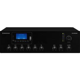 Amplificateur mixeur PA mono classe D, MP3, USB/SD, FM, DAB+, BT, 30 W