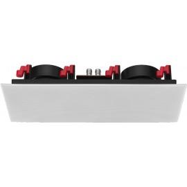Haut-parleur Public Adress Hi-Fi pour mur et plafond, 50 W, 8 Ω