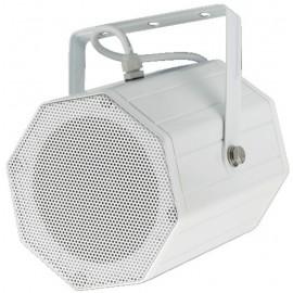 Projecteur de son professionnel Public Adress pour montage mur ou plafond, résistant aux intempéries