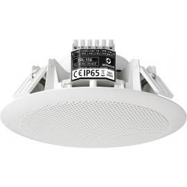 Haut-parleur Public Adress pour plafond, résistant aux intempéries