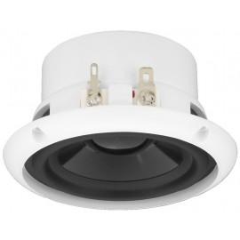 Haut-parleur large bande encastré résistant aux intempéries et haut-parleur de médium aigu, 20 W, 8 Ω