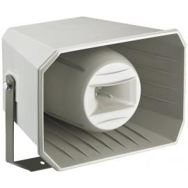 Haut-parleur à chambre de compression (pavillon musique), 2 voies, résistant aux intempéries