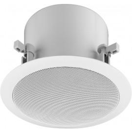 Haut-parleur de plafond encastré actif, 2 voies avec module DANTE® intégré