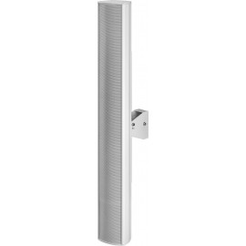 Colonne sonore étanche PA, IP66, blanche