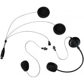 Headset universel pour casque de moto