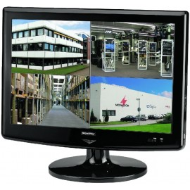 """Moniteur couleur TFT LCD 48 cm (19"""") avec enregistreur pentaplex numérique 4 canaux"""