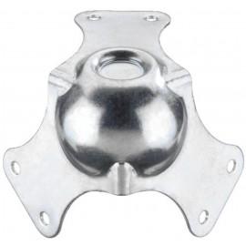Coin à boule métallique