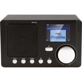 Radio internet avec affichage couleur et réseau domestique DLNA