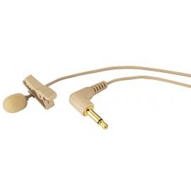 Microphone cravate électret