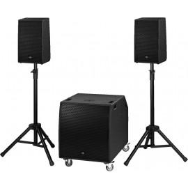 Système professionnel compact actif, 1300 W