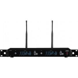 Unité récepteur multi-fréquences 2 canaux, 667,000-691,750 MHz
