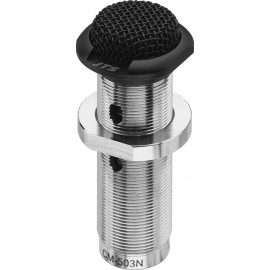Microphone électret encastrable