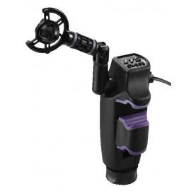 Microphone électret pour instruments