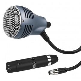 Microphone dynamique pour harmonica