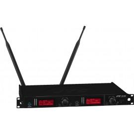 Récepteur large bande UHF TD 2 canaux