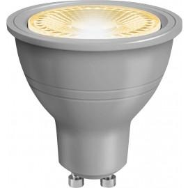 Lampe LED SMD réflecteur, GU10,  230 V/5 W, blanc chaud