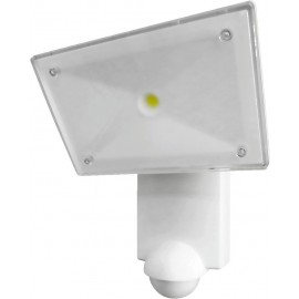 Projecteur LED COB CREE avec détecteur de mouvements, blanc, weiß, 1000 lm, 5000 K, 13 W