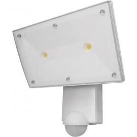Projecteur LED COB CREE avec détecteur de mouvements, blanc, weiß, 2000 lm, 5000 K, 2 x 13 W