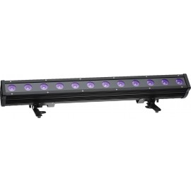 Barre à LEDs pour applications en extérieur, IP66, RGBW